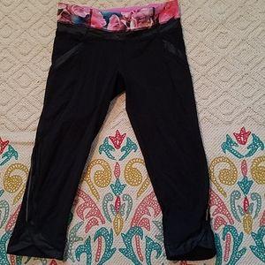 Lululemon capri leggings sz 6